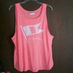 Gilly Hicks Pink SequinTank